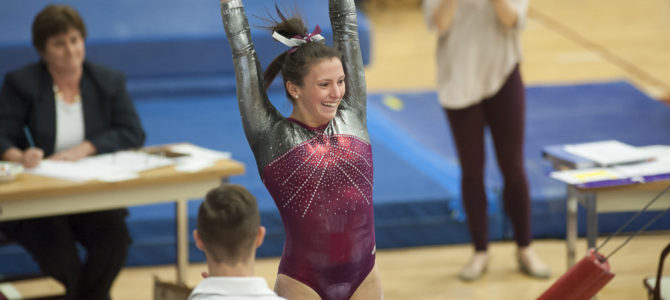 DeAngelo Named NACGC/W East Gymnast of the Year; Poisson Named Administrator of the Year