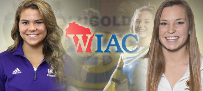 Erickson and Johnston Garner First WIAC Gymnast of the Week Honors of the Season