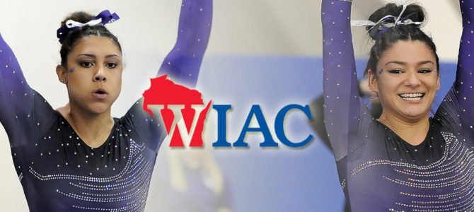 Smith and O'Donnell Sweep WIAC Gymnast of the Week Honors
