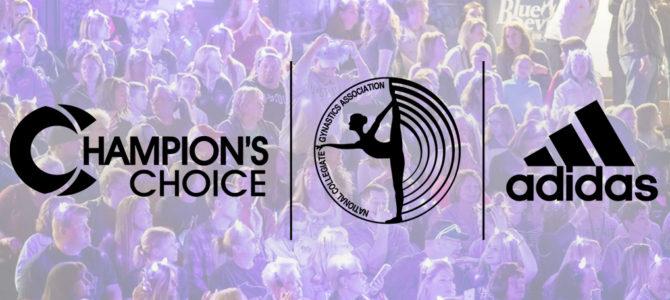National Collegiate Gymnastics Association Announces Partnership With Champions Choice