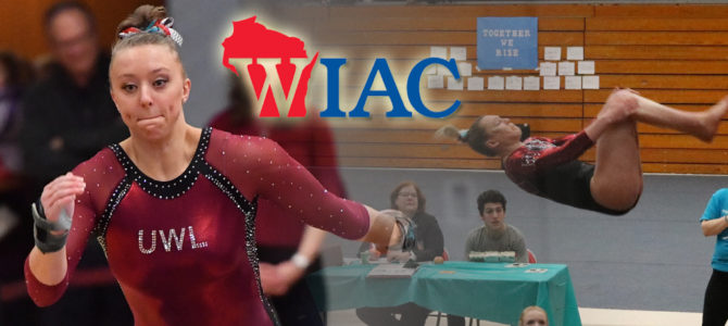 Wiekamp and Huch Pick Up WIAC Gymnast of the Week Honors