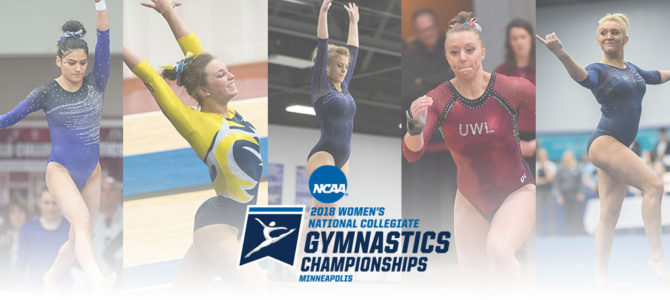 Five NCGA Student-Athletes to Compete at NCAA Division I Gymnastics Regional Championships