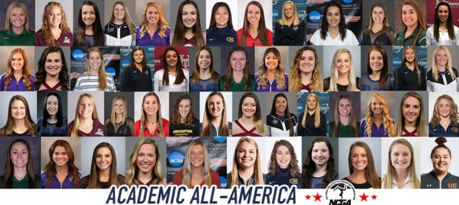 Fifty-One Earn NCGA All-America in Academics Honors